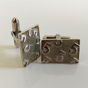 "Other - Silver ""5""Cuff Links"